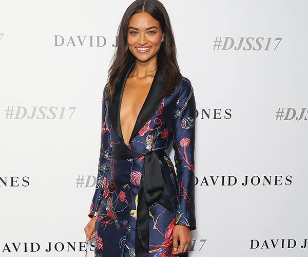 Shanina Shaik David Jones Fashion Launch Celebrity Arrivals