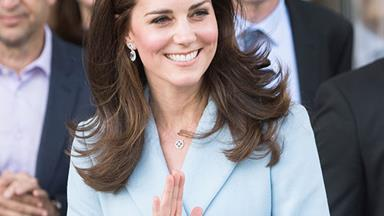 Kate Middleton's Engraved Necklace Is A Quiet Tribute To Princess Diana