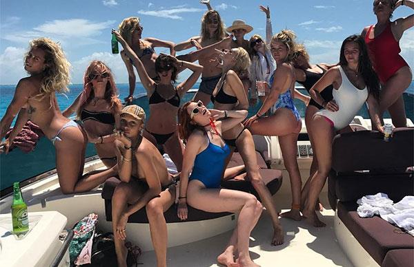 Cara Delevingne Birthday Celebrations Mexico