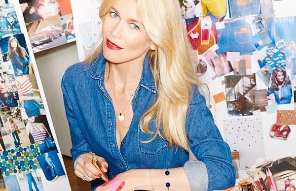Claudia Schiffer Launches Beauty Line