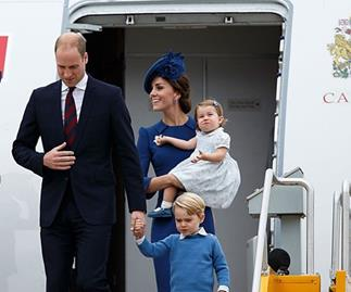 The Reason Prince William Isn't Meant To Fly On The Same Plane As George And Charlotte