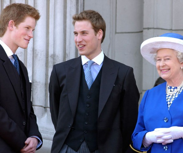 queen's relationship with the princes
