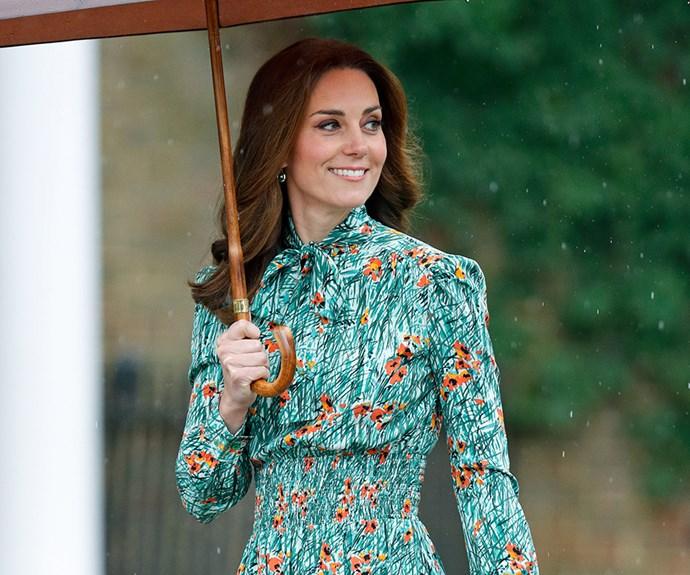 princess diana kate middleton fashion