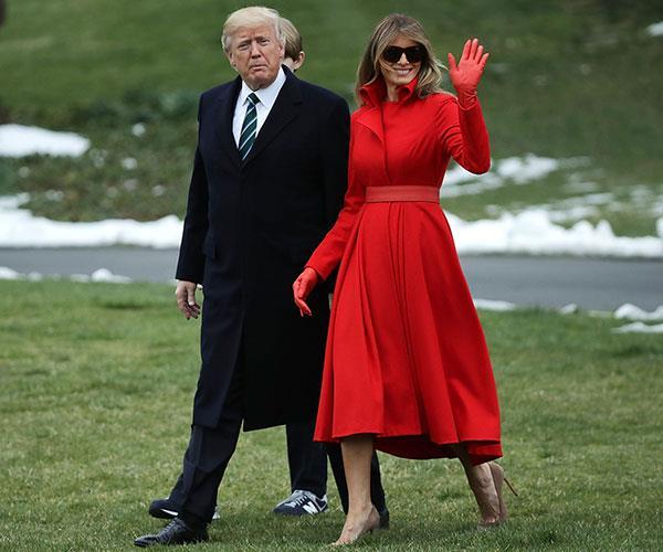Melania Trump Vanity Fair Best Dressed List Backlash