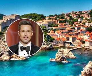 Brad Pitt Croatia