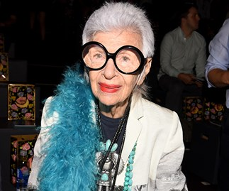 Iris Apfel footwear news interview
