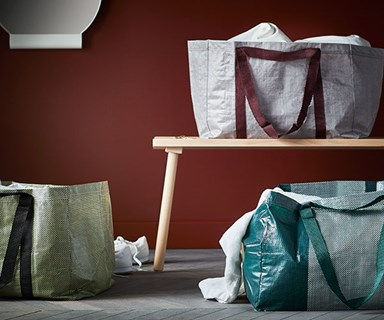 IKEA's Shopping Bag Just Got A Stylish Designer Makeover
