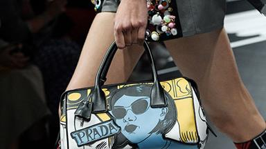 Prada's Latest Collection Was Inspired By Comic Books