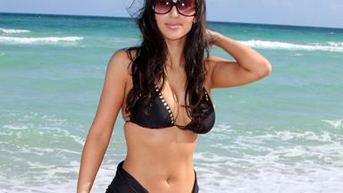 The Complete Evolution Of Kim Kardashian's Swimwear Style