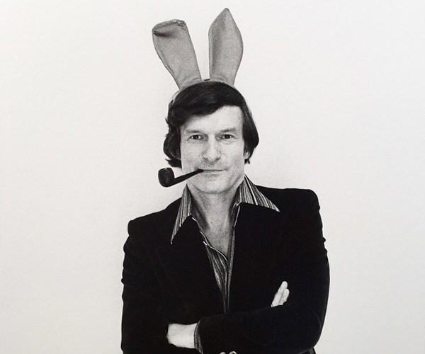 Old photos of Hugh Hefner