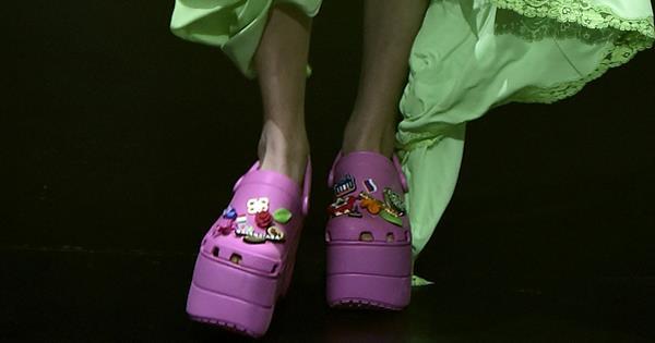 ffa19a233633 Would You Wear A Pair Of Balenciaga s High-Fashion Crocs