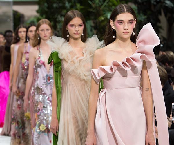 Valentino spring summer 2018 Paris fashion week show