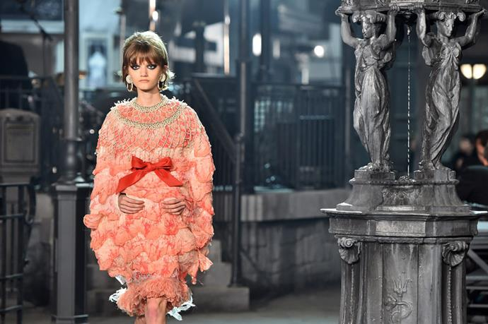 Chanel's Métiers d'Art Show in Rome