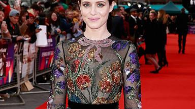 All The Times The Crown's Claire Foy Dressed Like A Queen In Real Life