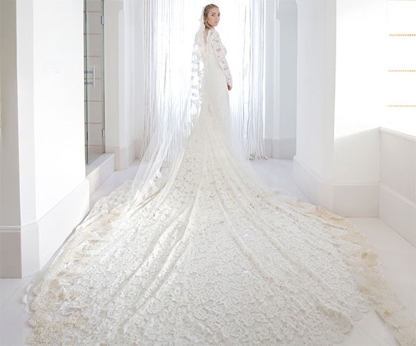 Whitey Wolfe Wedding Dress