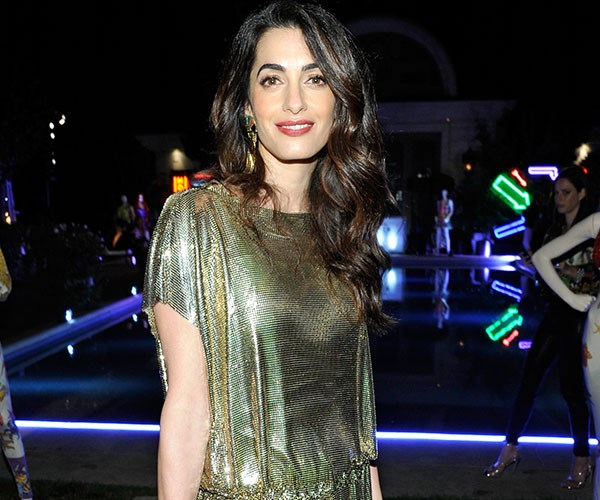 Amal Clooney Post Baby Red Carpet Versace