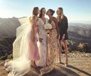 This Fashion Girl's Malibu Wedding Was An Unofficial Victoria's Secret Reunion