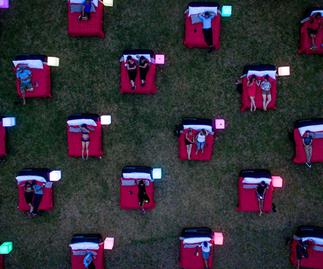 OUTDOOR CINEMA SYDNEY BED