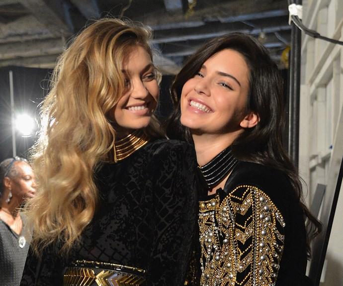 Gigi Hadid and Kendall Jenner