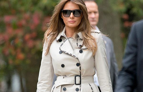 Melania Trump fashion sunglasses FLOTUS