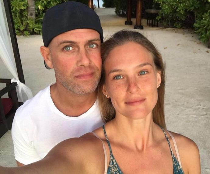 Bar Refaeli and husband Adi Ezra