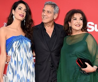 George Clooney Amal Clooney Mum Film Premiere