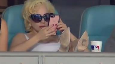 Lady Gaga Just Unknowingly Recreated An Iconic 'Sex And The City' Moment At The Baseball