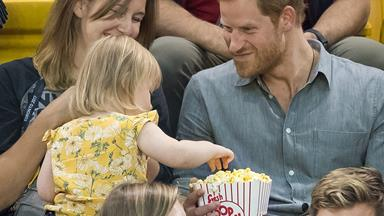 17 Pictures Of Prince Harry Being Adorable With Children