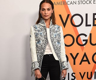 Alicia Vikander Wedding Engagement Ring