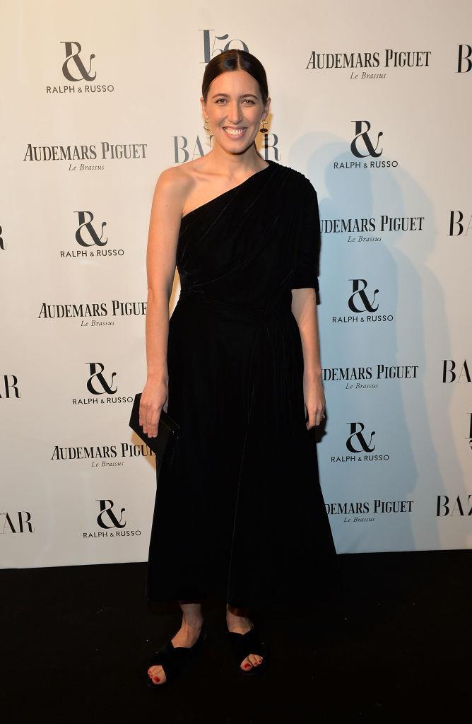 Emilia Wickstead attends Harper's Bazaar Women of the Year Awards.