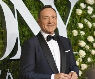Kevin Spacey at 2017 Tony Awards