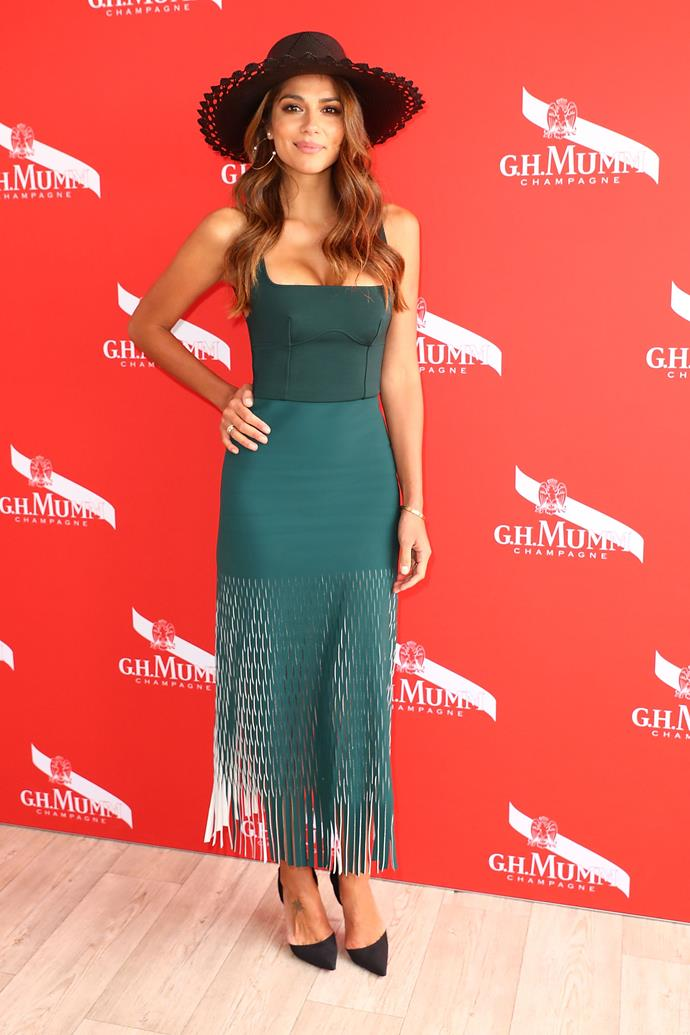 Mel McLaughlin in Dion Lee
