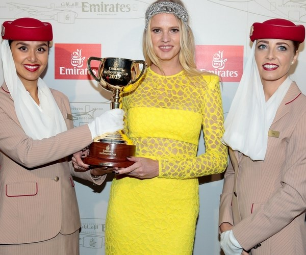 Lara Stone Melbourne Cup 2017