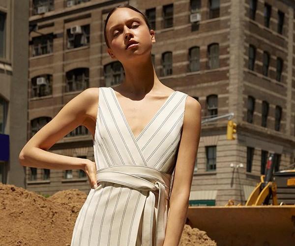 khaite white dress