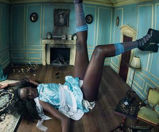Aussie Model Duckie Thot Stars In The 2018 Pirelli Calendar Alongside Naomi Campbell and Lupita Nyong'o