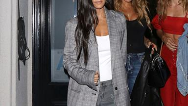 Is Kourtney Kardashian Having A Kim-Esque Style Renaissance?