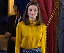 Queen Letizia Of Spain Steps Out In $125 Trousers
