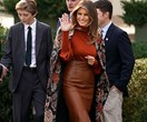 Charting Melania Trump's First Lady Style