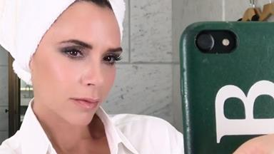 Victoria Beckham's Signature Makeup Look Only Requires Two Products