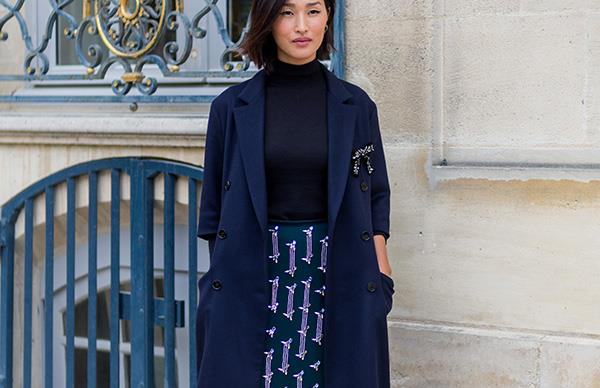 Nicole Warne Paris Fashion Week