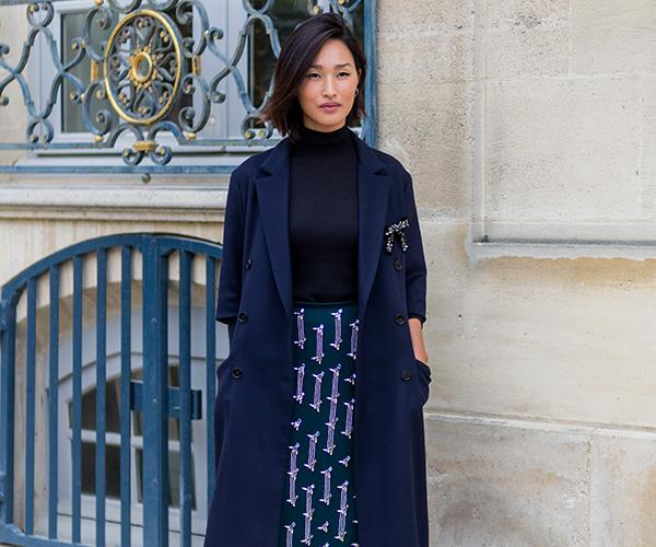 Nicole Warne Paris Fashion Week