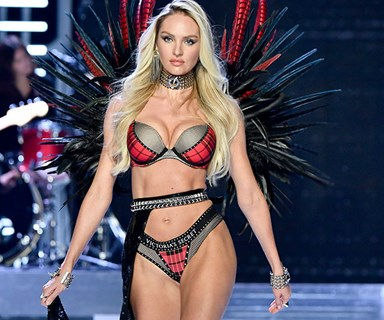 8 Incredible Victoria's Secret Post-Pregnancy Comebacks