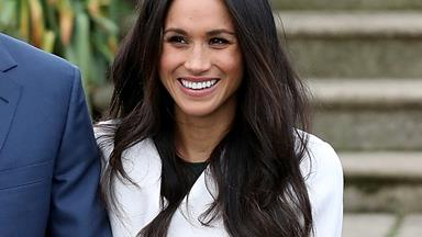 This Is The Secret To Meghan Markle's Bouncy Waves