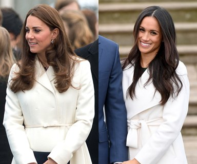 Every Time Kate Middleton And Meghan Markle Were Royal-Style Twins