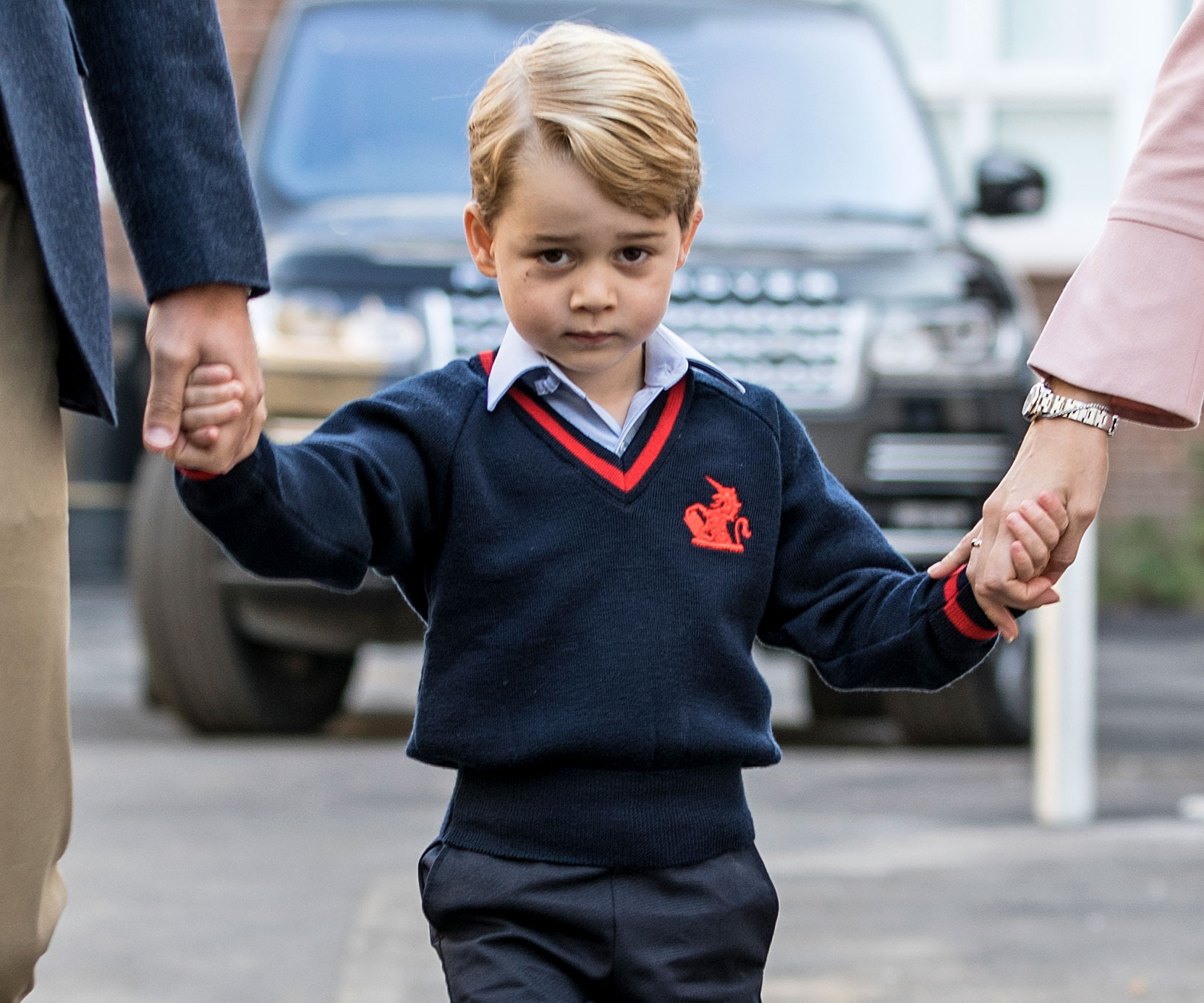 All Prince George Wants For Christmas Is A Police Car, Dad Says