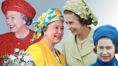 A Rainbow-Themed Retrospective Of Queen Elizabeth's Most Unusual Hats