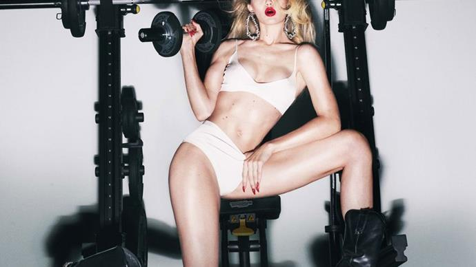 CR Fashion Book Just Released Its First Calendar And It Features Models At The Gym