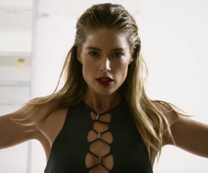 Doutzen Kroes Jumping Rope In This Love Magazine Video Is All The #Fitspo You'll Ever Need