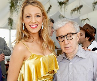 Blake Lively and Woody Allen.