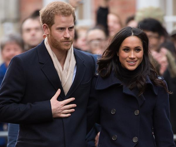 Meghan Markle Prince Harry fashion